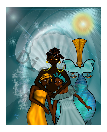 Original composite artwork by Dieezah